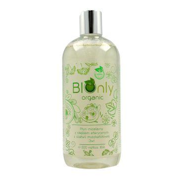 Bionly – Organic Płyn Micelarny Z Olejkiem Eterycznym Z Szałwii Muszkatołowej 3w1 (500 ml)