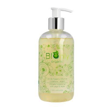 BIOnly Organic Żel do higieny intymnej z szałwią i algami (300 ml)
