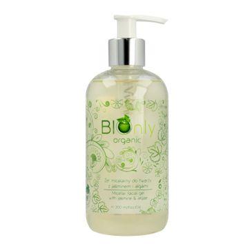 BIOnly Organic Żel micelarny do twarzy z jaśminem i algami dla cery tłustej i mieszanej (300 ml)