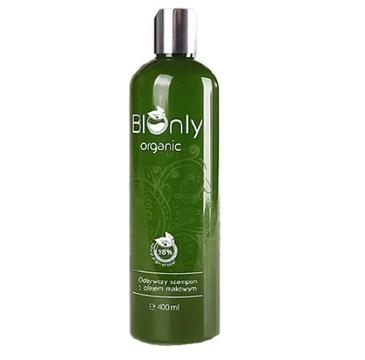 BIOnly – Organic Odżywczy szampon z olejem makowym (300 ml)