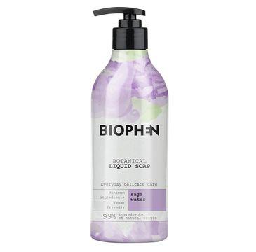 Biophen – Botanical Liquid Soap mydło w płynie z pompką Sage Water (400 ml)