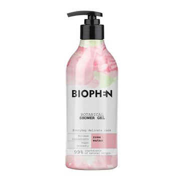 Biophen – Botanical Shower Gel żel pod prysznic Rose Water (400 ml)