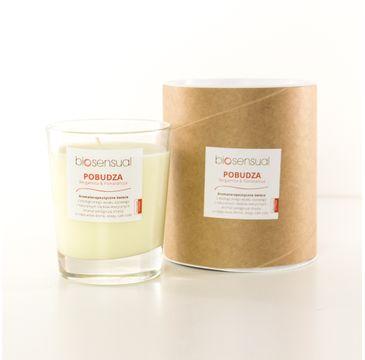 Biosensual Pobudza świeca aromaterapeutyczna Bergamotka & Pomarańcza 200ml