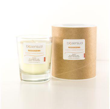 Biosensual Rozgrzewa świeca aromaterapeutyczna Cynamon & Goździk & Pomarańcza 200ml