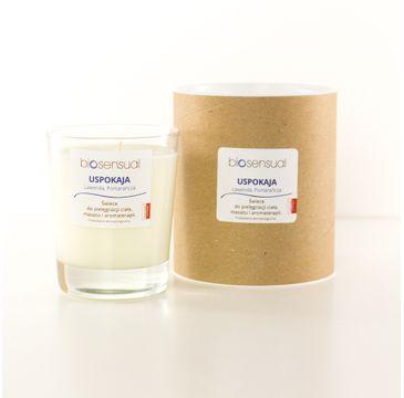 Biosensual Uspokaja świeca aromaterapeutyczna Lawenda & Pomarańcza 200ml