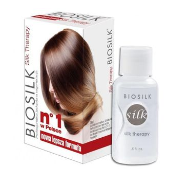 BioSilk Silk Therapy jedwab do włosów 15ml