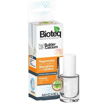 Bioteq Nail Builder With Calcium preparat do regeneracji paznokci z wapniem 10ml