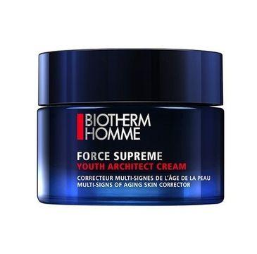 Biotherm Homme Force Supreme Youth Architect Cream krem korygujący oznaki starzenia 50ml
