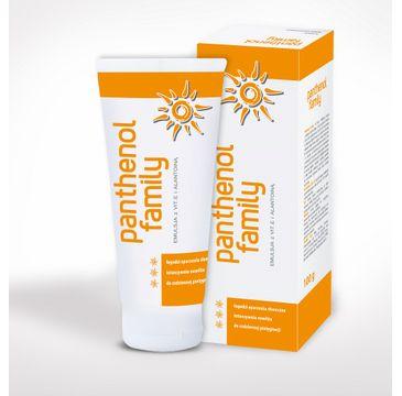 Biovena Panthenol Family emulsja na oparzenia słoneczne dla całej rodziny (100 g)