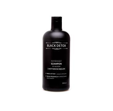Biomika Black Detox Szampon oczyszczający do włosów (500 ml)