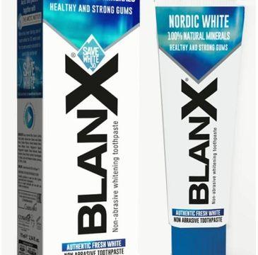 Blanx Nordic White Pasta do zębów wybielająca (75 ml)