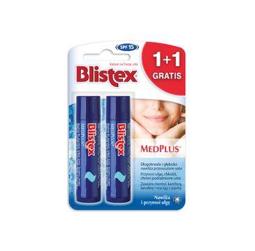 Blistex – Balsam do ust MedPlus (1+1)