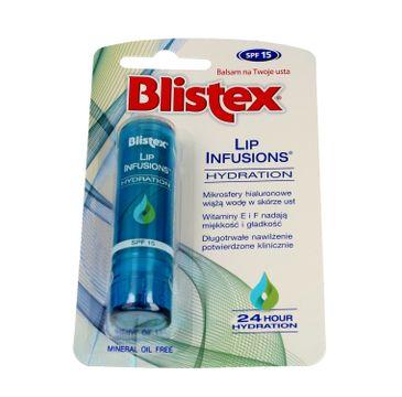 Blistex Lip Infusions Balsam do ust nawilżający SPF15 3.7 g