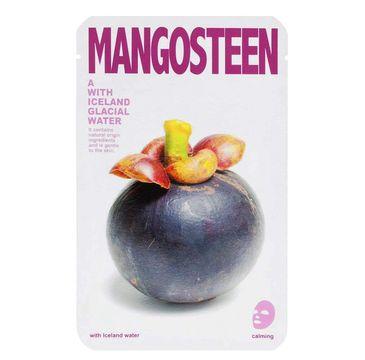 Blue Dot Mask A With Iceland Glacial Water – łagodząca maseczka w płacie Mangosteen (20 g)