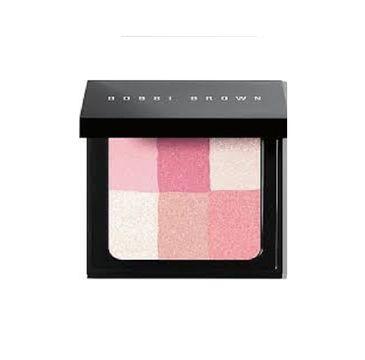 Bobbi Brown Brightening Brick róż, bronzer i rozświetlacz do twarzy w kompakcie Pastel Pink 6,6g