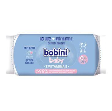 Bobini – Baby chusteczki nawilżane z witaminą E dla dzieci i niemowląt (60 szt.)