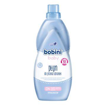 Bobini Baby Płyn do prania ubranek niemowlęcych i dziecięcych z mleczkiem bawełnianym Hypoalergiczny 1l
