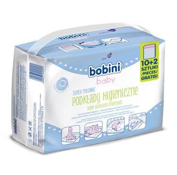Bobini Baby Podkłady higieniczne dla niemowląt i dzieci 12szt