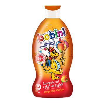 Bobini Szampon żel pod prysznic i płyn do kąpieli Magiczne mango 330ml