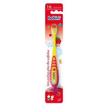Bobini Szczoteczka do zębów dla dzieci 1-6 lat