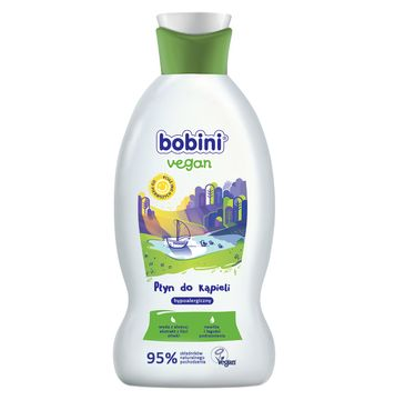 Bobini Vegan Hypoalergiczny płyn do kąpieli 330ml