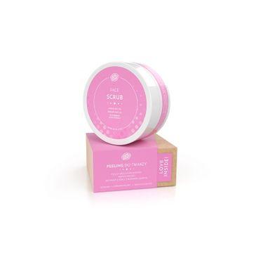 BodyBoom – Scrub Face peeling do twarzy wygładzający Olej z Orzechów Bambusa & Masło Mango (50 ml)
