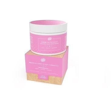 BodyBoom – Scrub For Pregnant Women peeling dla kobiet w ciąży i karmiących Wyciąg z Komosy Ryżowej & Sok Aloesowy (200 ml)