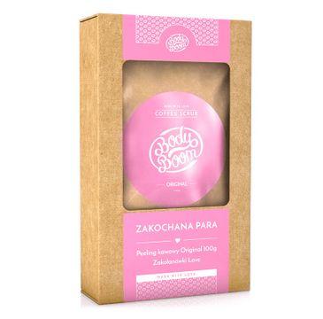 BodyBoom – Zakochana Para zestaw Coffee Scrub peeling kawowy Original (100 g) + Zakolanówki Love