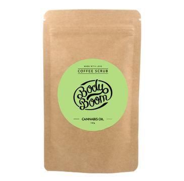 BodyBoom – Peeling kawowy do ciała - Cannabis Oil (100 g)