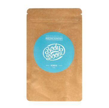BodyBoom – peeling kawowy Kokos (100 g)