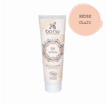 Boho Green Make Up BB Creme organiczny krem BB o lekkiej nawilżającej formule 02 Beige Clair (30 ml)