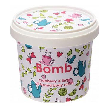 Bomb Cosmetics Cranberry & Lime Body Scrub peeling pod prysznic Żurawina & Limonka 400g
