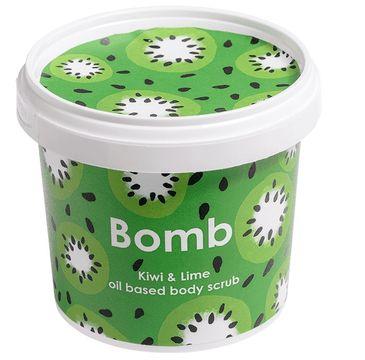 Bomb Cosmetics Kiwi & Lime Oil Body Scrub peeling pod prysznic Kiwi & Limonka 400g