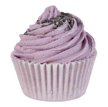 Bomb Cosmetics Lazy Lavender Bath Brulee muffinka do kąpieli 160g