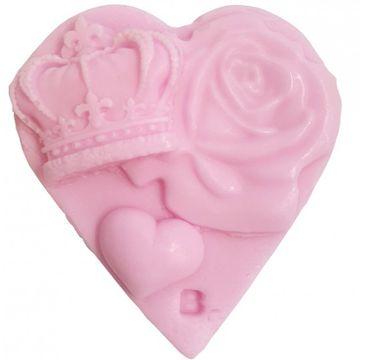 Bomb Cosmetics Queen Of Hearts Soap Slice mydełko glicerynowe (100 g)