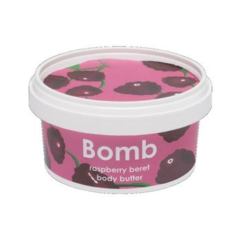 Bomb Cosmetics Raspberry Beret Body Butter masło do ciała Malina 200ml