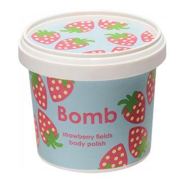 Bomb Cosmetics Strawberry Fields Body Polish peeling cukrowy pod prysznic Truskawkowe Pola 375g