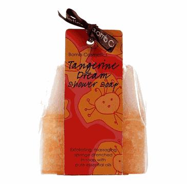Bomb Cosmetics Tangerine Dream Shower Soap musujące mydło pod prysznic 140g