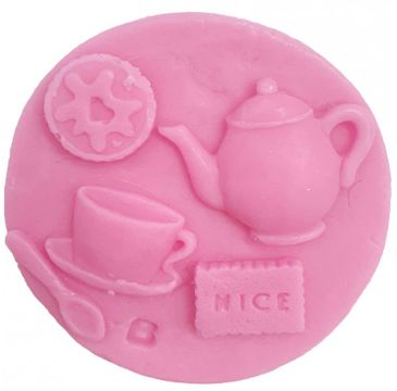Bomb Cosmetics Tea & Biscuits Soap Slice mydełko glicerynowe (100 g)