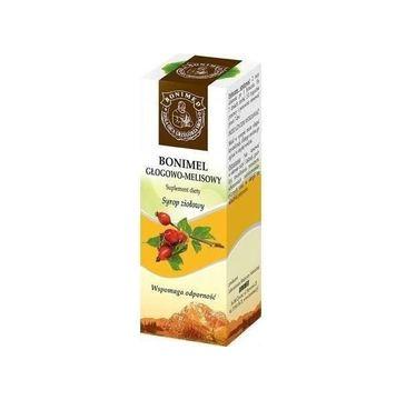 Bonimed Bonimel głogowo-melisowy syrop ziołowy wspomaga odporność suplement diety 130g