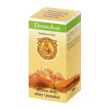 Bonimed Dermobon odżywia skórę i włosy suplement diety 30 kapsułek