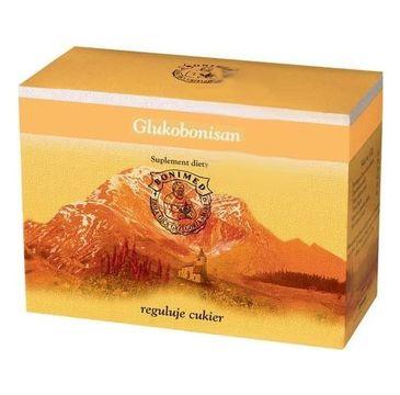 Bonimed Glukobonisan wspomaga utrzymanie prawidłowego poziomu glukozy suplement diety 20 saszetek