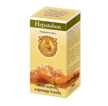 Bonimed Hepatobon chroni wątrobę wspomaga trzustkę suplement diety 60 kapsułek