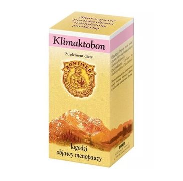 Bonimed Klimaktobon łagodzi objawy menopauzy suplement diety 60 kapsułek