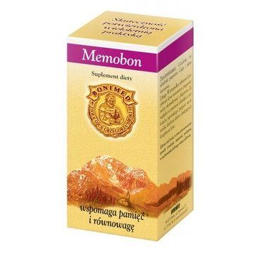 Bonimed Memobon wspomaga pamięć i równowagę suplement diety 60 kapsułek