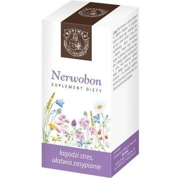 Bonimed Nerwobon łagodzi stres ułatwia zasypianie suplement diety 60 kapsułek