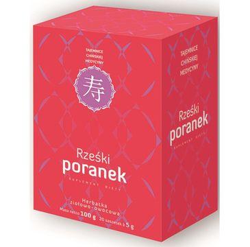 Bonimed Rześki Poranek herbatka ziołowo-owocowa suplement diety 20 saszetek