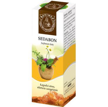 Bonimed Sedabon syrop łagodzi stres ułatwia zasypianie suplement diety 130g