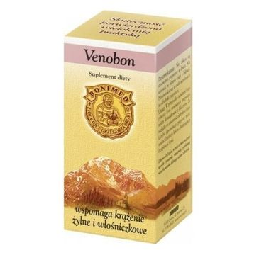 Bonimed Venobon wspomaga krążenie suplement diety 60 kapsułek