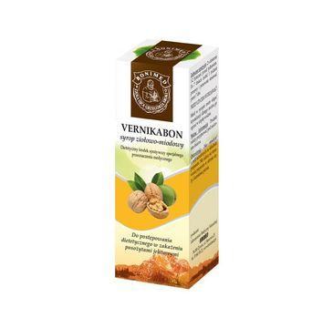 Bonimed Vernikabon syrop ziołowo-miodowy suplement diety 130g